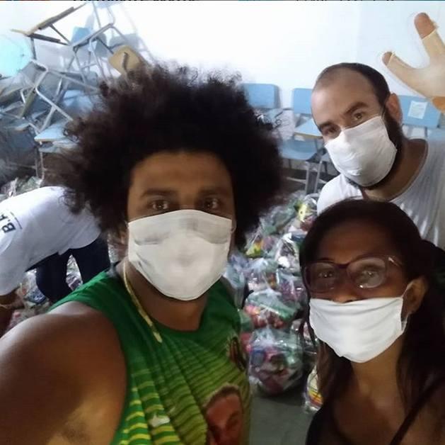 El activista negro Walmyr Junior cree que la militarización de la sociedad brasileña, ampliada en el actual gobierno del presidente Jair Bolsonaro y diez ministros militares, agrava la violencia contra los negros en Brasil. Foto: Cortesía de Walmyr Junior