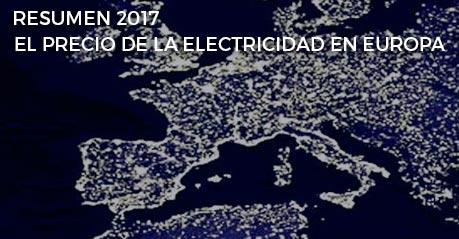Resumen 2017: Comparativa de precios y estado de la energía en Europa