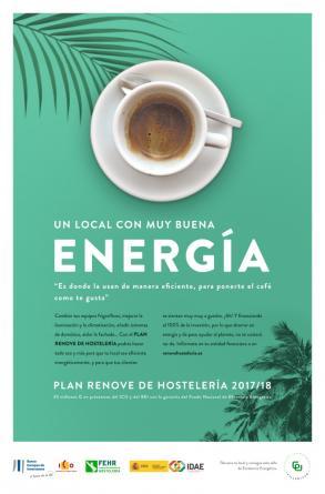 Plan Renove de eficiencia energética en Hostelería