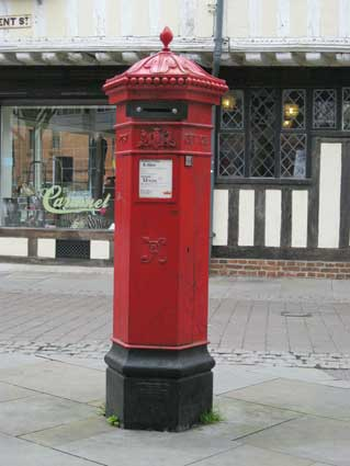 Image result for 1950s uk post box