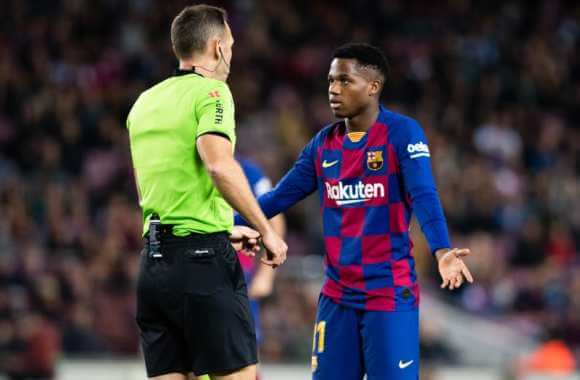 Fati's departure from Barcelona in this case
