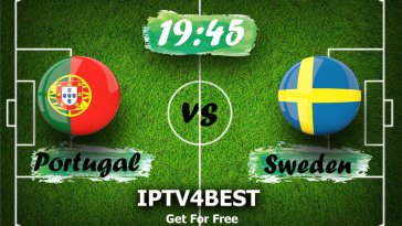 LIVE Sweden vs Portugal