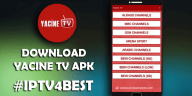 Yacine TV APK BY IPTV4BEST