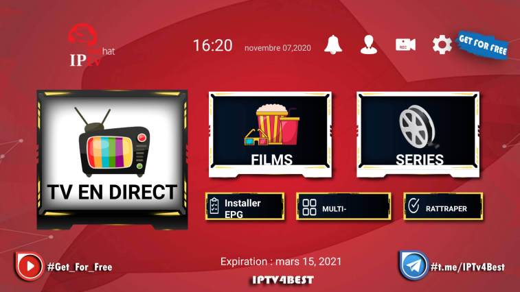 Redhat Union IPTv APK By IPTV4BEST