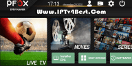 IPFOX Tv APK For Android + Activation Login By IPTV4BEST.COM