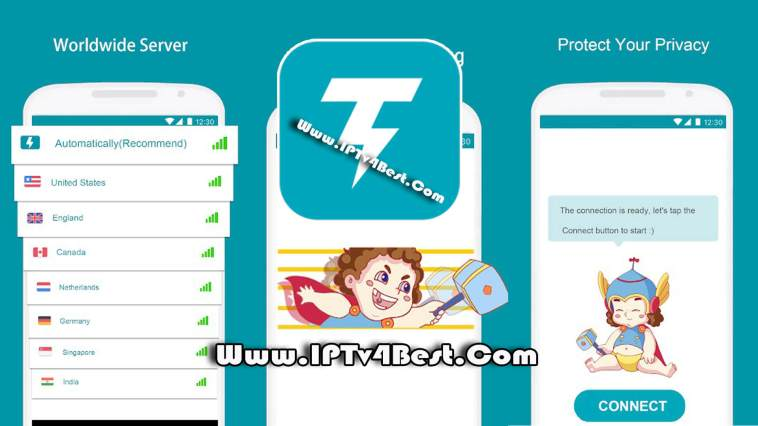 Thunder VPN APK 2021 - Unlimited Free VPN Proxy By IPTV4BEST.COM