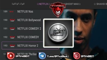 Black Tv Netflix Bein Sport Activation Latest Version 2021-IPTV4BEST.COM
