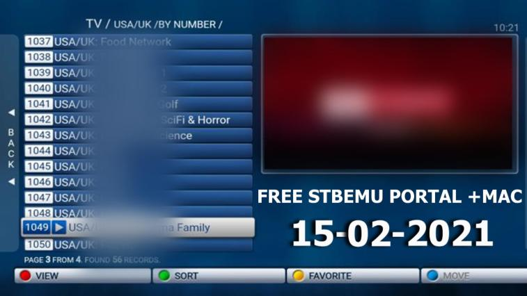 STBEMU PORTAL + MAC Premium Activation 15-02-2021