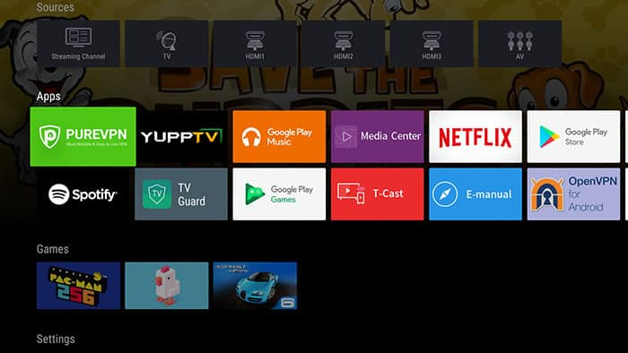 vpn para tv android tv box
