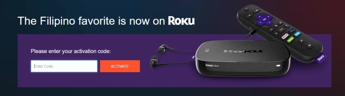 Roku activation