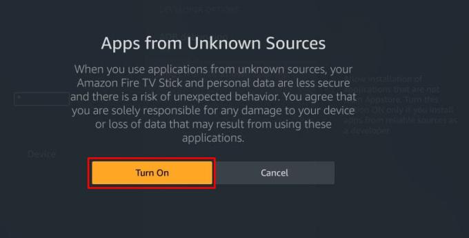 turn on - Flixstik IPTV