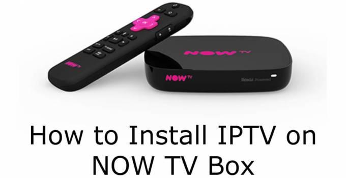 IPTV on NOW TV