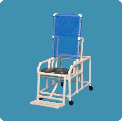shower chair with arms and backrest butterfly covers auckland 2 position easy-tilt