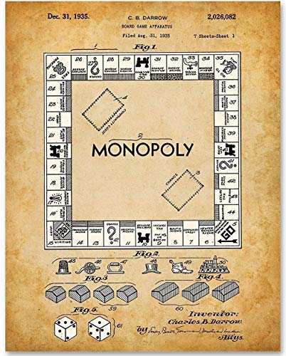 Patent Lessons from Monopoly® and the First Millionaire Game Inventor