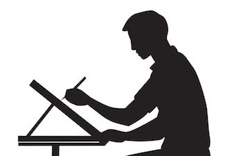 Drafting-1-man-silhouette-335