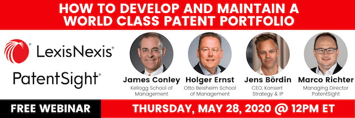 PatentSight Webinar 05-28-2020