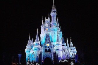 disney-castle-night