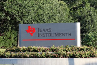 """TI's New Signboard at its Dallas Headquarters"" by Texas Instruments. Licensed under CC BY 3.0."