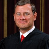 Chief Justice John Roberts, United States Supreme Court.