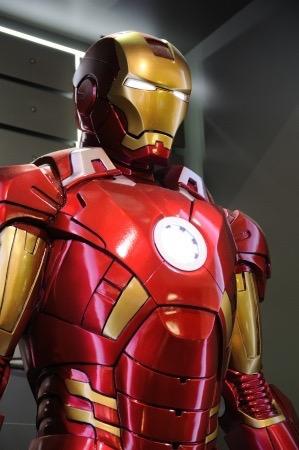 Iron Man suit. Image Source 123RF.com ID Image ID : 19464680 Copyright : Norman Kin Hang Chan