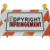Caution copyright infringement