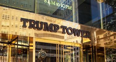 Trump Tower entrance