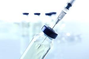 Vaccine needle vial