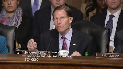 Senator Richard Blumenthal (D-CT).