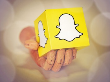 """Snapchat User"" by Blogtrepreneur. Licensed under CC BY 2.0."