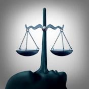 Pinocchio scales justice