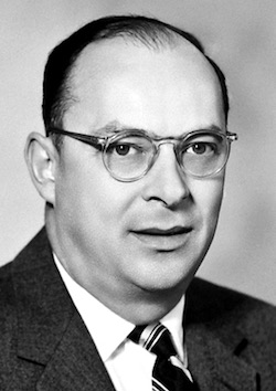 John Bardeen. Picture by the Nobel Foundation. Public domain.