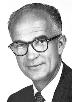 William B. Shockley. Picture by the Nobel Foundation. Public domain.
