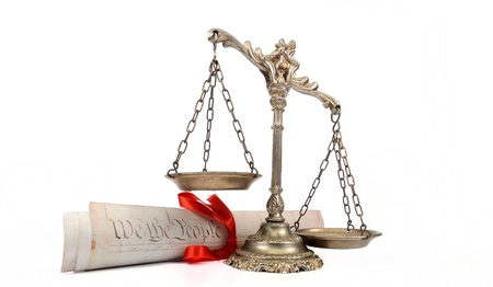 PTAB, Constitution, scales of justice