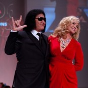 Gene Simmons and wife Shannon Tweed. Photography by Jason Hargrove. CC BY-SA 2.0.