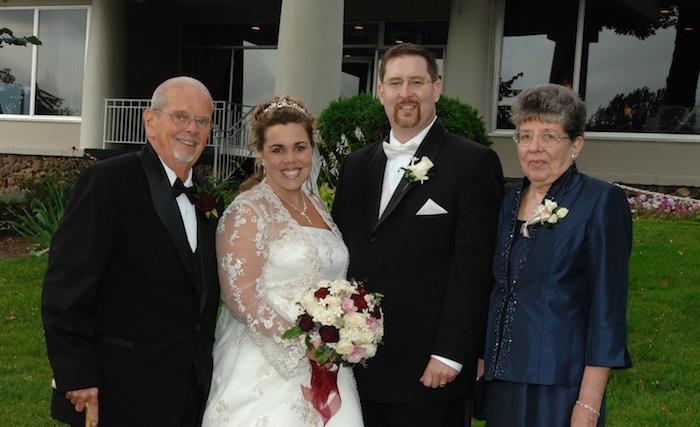 Gene Sr., Renee, Gene Jr., Mary Quinn, September 9, 2006, Syracuse, New York.