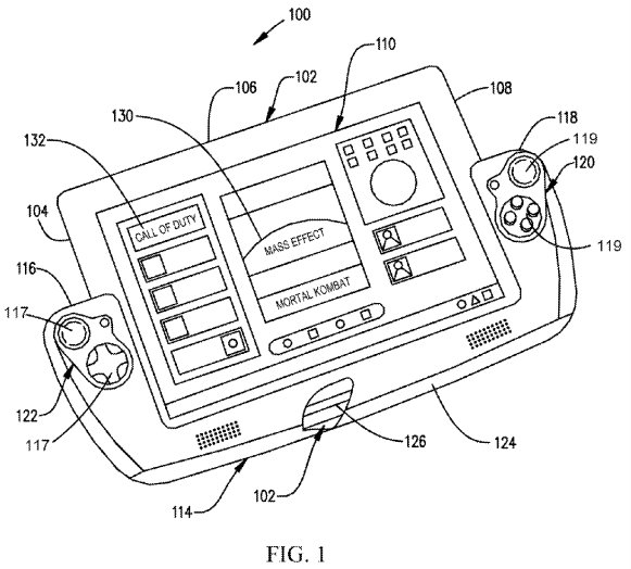 Nintendo Switch gaming console is at center of patent