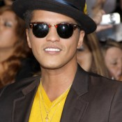 Bruno Mars at the LA premiere of 'The Twilight Saga: Breaking Dawn Part 1' held at the Nokia Theatre, November 14, 2011.