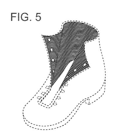 Fig. 5 of U.S. Design Patent No. D657,093, assigned to Columbia Sportswear North America, Inc.