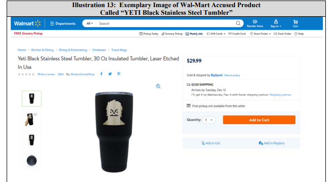 YETI Lawsuit Asserts Breach of Settlement Agreement Claims Against Wal-Mart  - IPWatchdog com | Patents & Patent Law