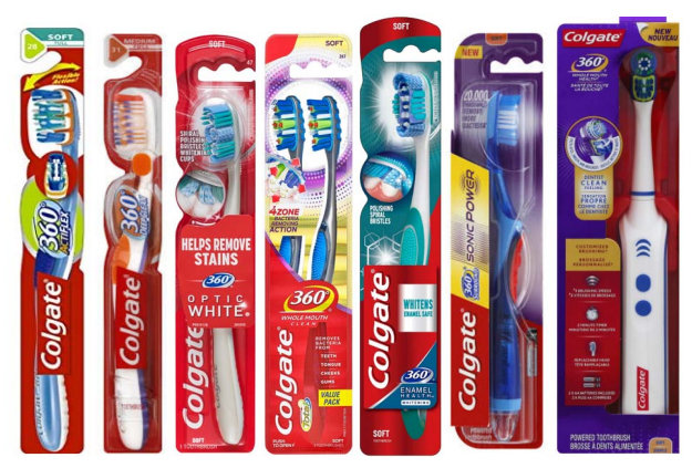 Colgate-Palmolive Files Trademark Suit Over Use of '360' Branding on  Toothbrushes, Oral Care Products - IPWatchdog com | Patents & Patent Law