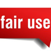 Fair use - https://depositphotos.com/193098702/stock-illustration-fair-use-red-3d-speech.html