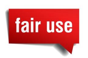 Fair use - https://depositphotos.com/193098702/stock-illustration-fair-use-red-3d-speech.html