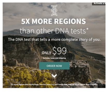 23AndMe Sues Ancestry com Over DNA Genetic Testing Kits