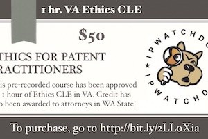 1 Hour Ethics CLE – Cost $50  To purchase go to: http://bit.ly/2LLoXia
