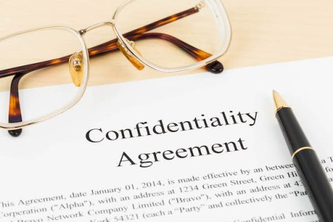sample confidentiality agreements