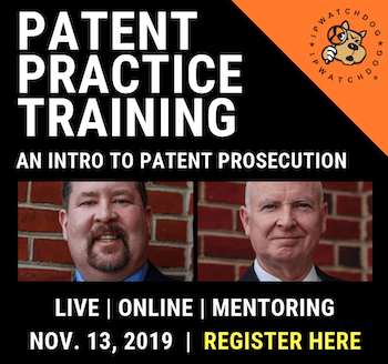 patent practice training