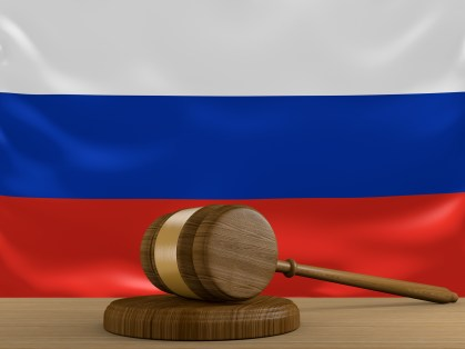 Russia keyword ads case - https://depositphotos.com/85153850/stock-photo-russia-law-and-justice-system.html