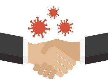 Trade Secrets Virus - https://depositphotos.com/355146680/stock-illustration-virus-transmission-by-shaking-hands.html