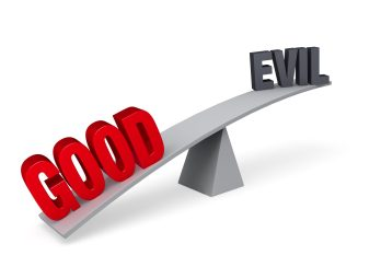 Morality - https://depositphotos.com/45342241/stock-photo-good-outweighs-evil.html