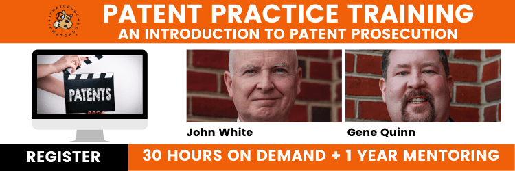 Patent Practice Training